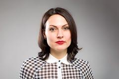 Portret van gelukkige jonge bedrijfsvrouw Stock Afbeelding