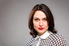 Portret van gelukkige jonge bedrijfsvrouw Stock Foto