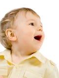 Portret van gelukkige jongen Stock Afbeelding