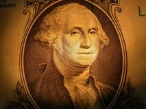 Portret van George Washington Stock Afbeelding