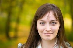 Portret van gewoon meisje Royalty-vrije Stock Afbeeldingen