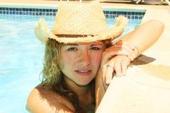 Portret van glimlachend meisje Royalty-vrije Stock Fotografie