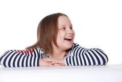 Portret van glimlachend meisje Stock Fotografie