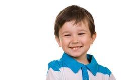 Portret van glimlachende jongen Royalty-vrije Stock Fotografie