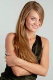 Portret van glimlachende vrouw #2 Stock Fotografie