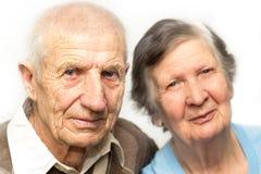 Portret van grootouders Stock Afbeelding