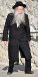 Portret van Hasidism-de mens Stock Afbeeldingen