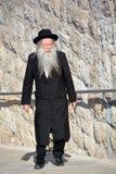 Portret van Hasidism-de mens Stock Fotografie
