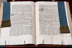 Portret van het close-up het Heilige Boek royalty-vrije stock foto