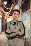 Portret van het Glimlachen van de Jongen stock fotografie