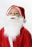 Portret van het glimlachen Kerstman stock foto's