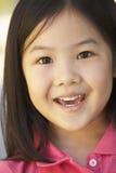 Portret van het Glimlachen van het Meisje Stock Afbeelding
