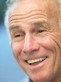 Portret van het Hogere Glimlachen van de Mens stock fotografie