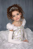 Portret van het jonge meisje Stock Afbeeldingen