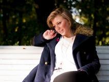 Portret van het jonge meisje Royalty-vrije Stock Afbeelding