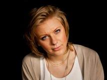 Portret van het jonge meisje Royalty-vrije Stock Foto's