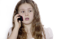 Portret van het jonge meisje. royalty-vrije stock foto's