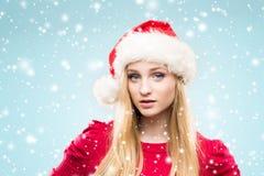 Portret van het jonge, mooie en gelukkige tiener vieren Stock Foto's