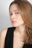 Portret van het jonge mooie meisje Stock Foto's