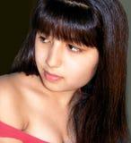 Portret van het jonge mooie meisje Royalty-vrije Stock Foto's
