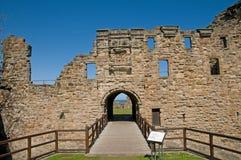 Portret van het kasteel stock foto