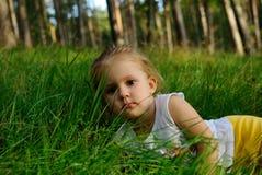Portret van het kind Stock Foto