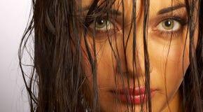 Portret van het meisje Stock Afbeelding