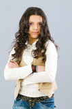 Portret van het meisje Royalty-vrije Stock Afbeeldingen