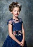 Portret van het mooie kind stock fotografie