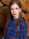 Portret van het mooie kind royalty-vrije stock afbeeldingen