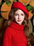 Portret van het mooie kind stock foto