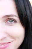 Portret van het mooie meisje. Stock Fotografie