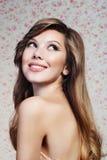 Portret van het mooie meisje Royalty-vrije Stock Fotografie