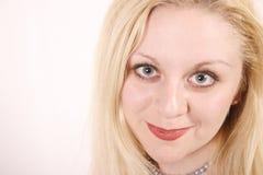 Portret van het mooie meisje Royalty-vrije Stock Foto's
