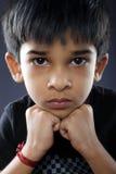 Portret van Indische Jongen stock foto's