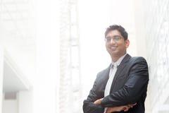 Portret van Indische zakenman Stock Foto