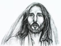 Jesus-Christus van Nazareth vector illustratie