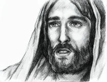 Jesus-Christus van Nazareth royalty-vrije illustratie