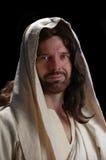 Portret van Jesus_Close omhoog stock foto