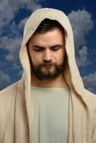 Portret van Jesus Outdoors stock afbeeldingen