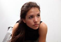 Portret van jong charmant meisje stock afbeelding
