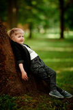 Portret van jong geitjejongen Royalty-vrije Stock Afbeeldingen