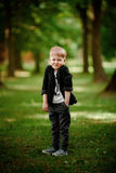 Portret van jong geitjejongen Royalty-vrije Stock Foto's