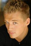 Portret van jong mannelijk model Stock Fotografie