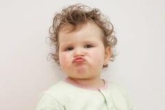 Portret van jong meisje Stock Foto's