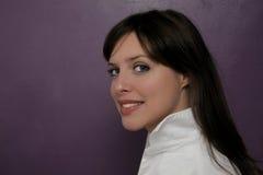 Portret van jong meisje Royalty-vrije Stock Foto's