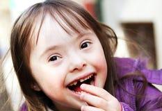 Portret van jong meisje Royalty-vrije Stock Afbeeldingen