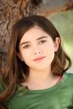 Portret van jong meisje Stock Afbeelding