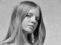 Portret van jong model Stock Afbeeldingen
