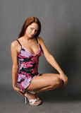Portret van jong model Royalty-vrije Stock Foto's